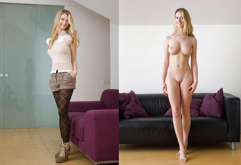 девушки голые и в одежде фото